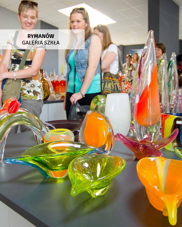 Rymanów - galeria szkła