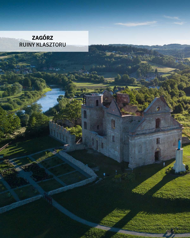 klasztor-karmelitow-bosych-ruiny-wycieczki-bieszczady