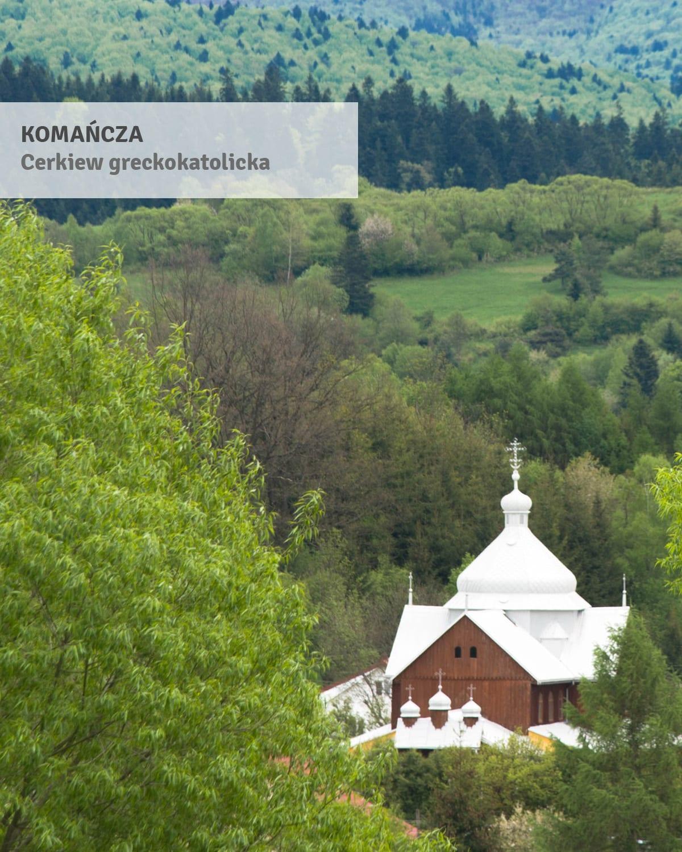 komańcza - cerkiew reckokatolicka