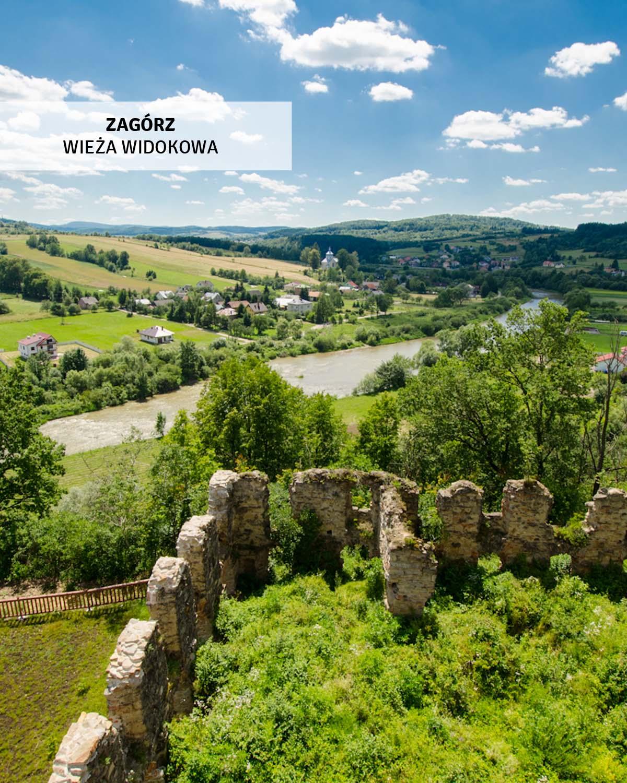 zagorz-wieza-widokowa-klasztor-sanok